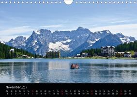 Seen im Gebirge (Wandkalender 2021 DIN A4 quer)