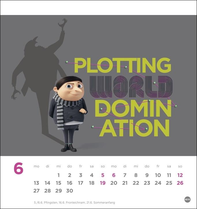 Minions Postkartenkalender 2022