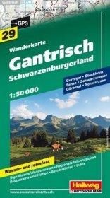 Gantrisch - Schwarzenburgerland 1 : 50.000