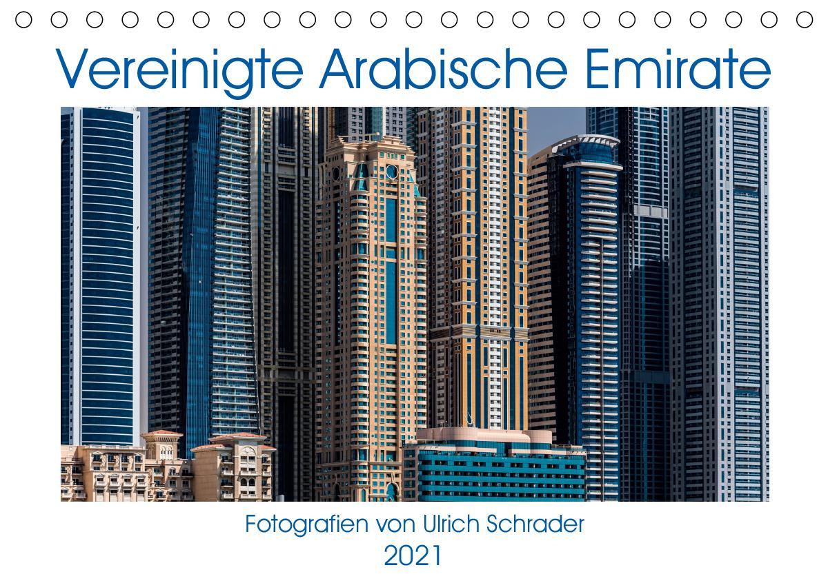 Vereinigte Arabische Emirate 2021 (Tischkalender 2021 DIN A5 que