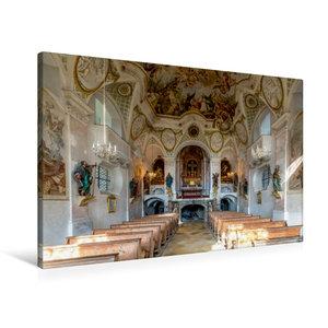 Premium Textil-Leinwand 90 cm x 60 cm quer Kalvarienbergkirche