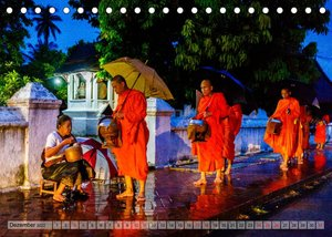 Laos - An den Ufern des Mekong (Tischkalender 2022 DIN A5 quer)