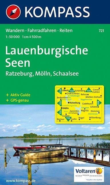 Lauenburgische Seen 1 : 50 000