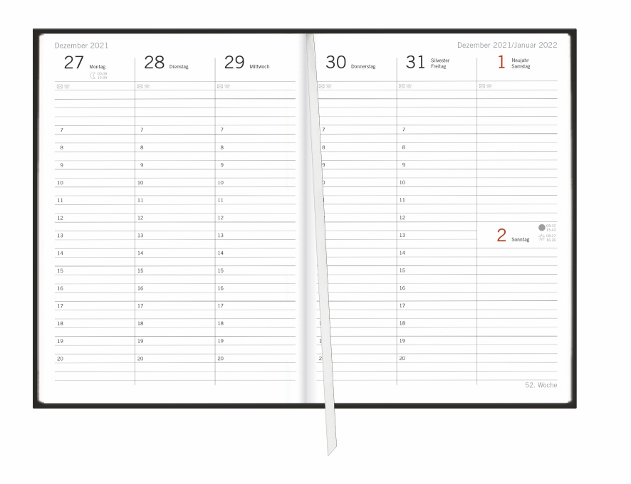 Loriot Agenda A5 Kalender 2022
