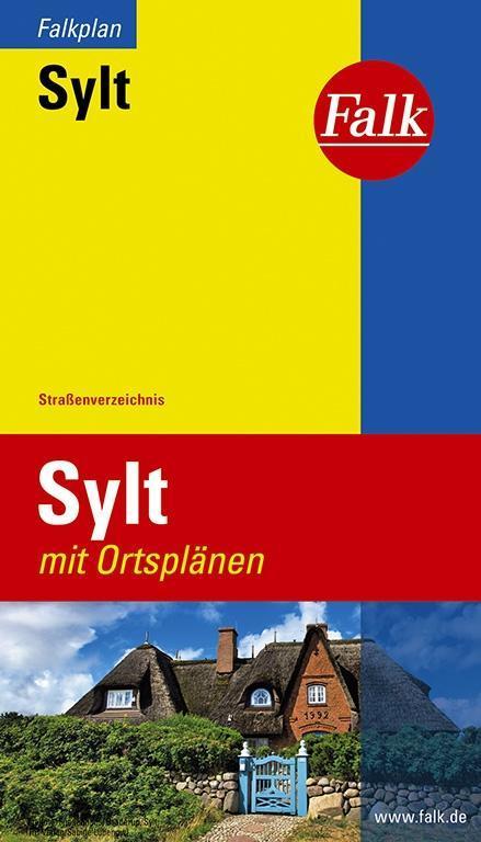 Falk Falkplan Sylt 1:40 000 mit Ortsplänen