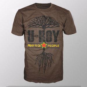Pray Fi Di People (Shirt L/Brown)