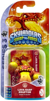 Skylanders Swap Force - LAVA BARF ERUPTOR (Single Character) Ser