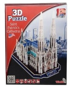 Simba 106130491 - St. Patricks Cathedral, 3D Puzzle