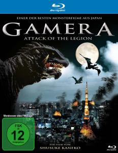 Gamera-Attack of the Legion (BD)