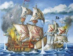 Ravensburger Puzzle. Piraten