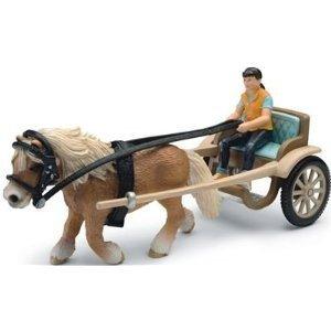 Schleich 42040 - Farm Life: Ponykutsche