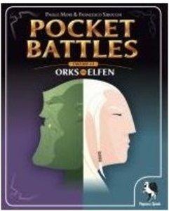 Pegasus Spiele 17551G - Pocket Battles: Orks vs. Elfen