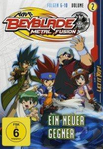 Beyblade Metal Fusion, 1 DVD. Vol.2