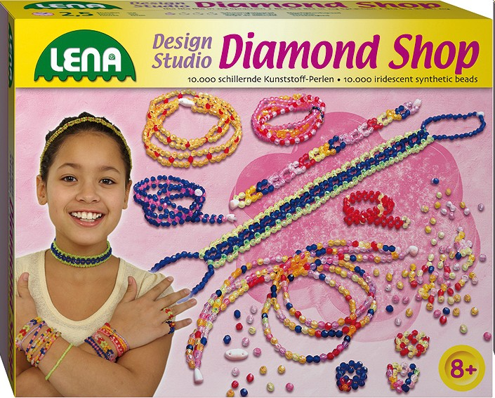 Lena 42304 - Diamond Shop groß, Modeschmuck