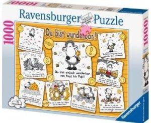 Ravensburger 15494 - sheepworld: Du bist wunderbar, 1000 Teile Puzzle
