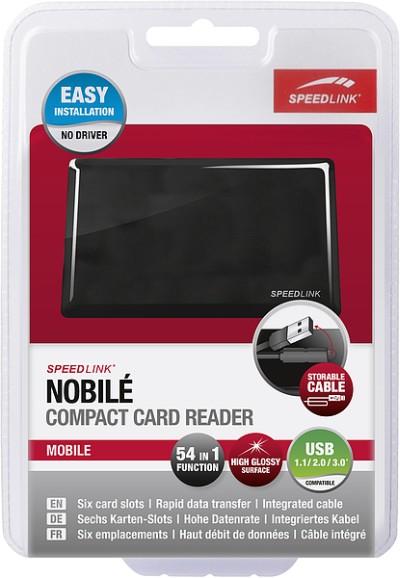 Speedlink NOBILÉ Compact Card Reader 54-in-1, Multiformat-Karten