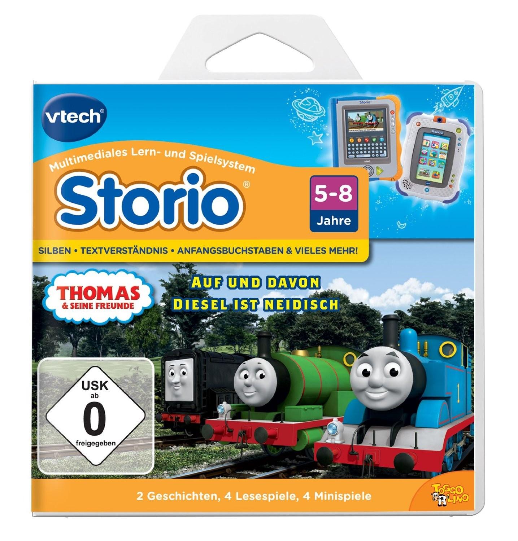VTech 80-282704 - Lernspiel Thomas und seine Freunde (Storio, St