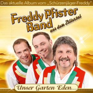 Freddy Pfister Band, Unser Garten Eden, 1 Audio-CD
