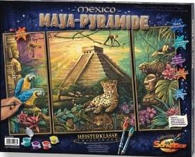 Schipper 609260486 - Maya-Pyramide, MNZ, Malen nach Zahlen