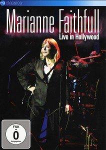 Marianne Faithfull - Live In Hollywood, 1 DVD