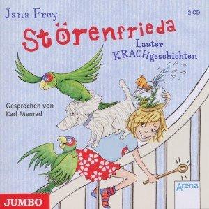 Die Störenfrieda, 2 Audio-CDs