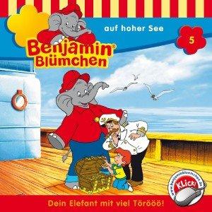 Benjamin Blümchen auf hoher See, 1 Audio-CD