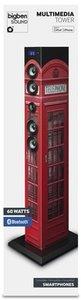 MULTIMEDIA-TOWER, Sound Tower TW1, Turmlautsprecher, phone box (