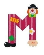 Sevi 81749 - Buchstabe: Clown M
