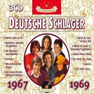Various: Deutsche Schlager 1967-1969