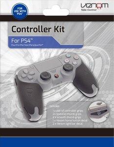 VENOM Controller Kit, Schutzhüllen, Schutzgriffe, Grips für PS4