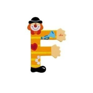Sevi 81742 - Buchstabe: Clown F