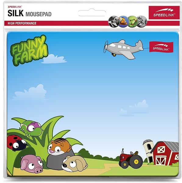 Speedlink SL-6242-FARM SILK Mousepad, Funny Farm