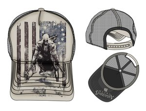 Assassins Creed 3 - Trucker Cap with Sublimation Print