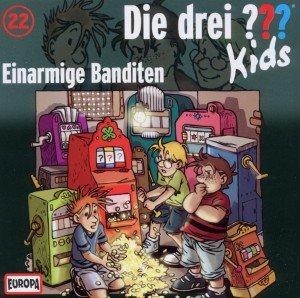 Die drei ???-Kids - Einarmige Banditen, 1 Audio-CD