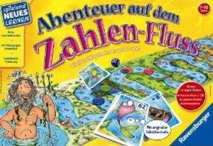 Ravensburger 25024 - Abenteuer auf dem Zahlen-Fluss, Mathe rechnen
