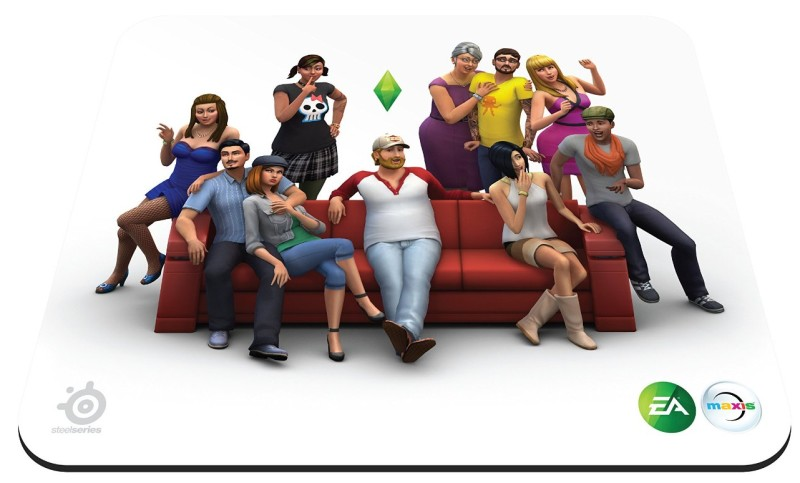 SteelSeries Gaming Mauspad - QcK Sims 4 Edition