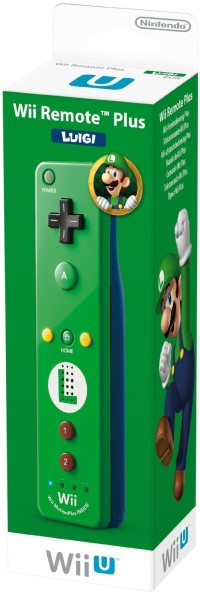 Remote Plus Luigi Edition, Controller, grün