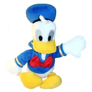 Joy Toy 600242 - Disney: Donald, Plüschfigur, 20 cm