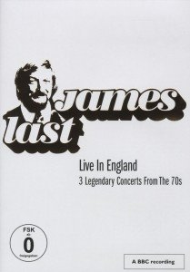 James Last - Live In England, 1 DVD