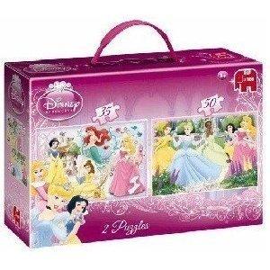 Jumbo 17143 - Disney Princess: Duo Puzzle, 35 + 50 Teile