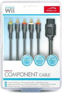COMPONENT Cable - für Nintendo Wii U/Wii, schwarz
