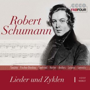 Lieder und -zyklen. Art Songs and Cycles, 4 Audio-CDs