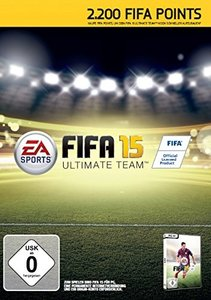 FIFA 15 - 2200 Ultimate Team Points (Code in der Box)