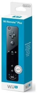Nintendo Wii U - Remote Plus, schwarz