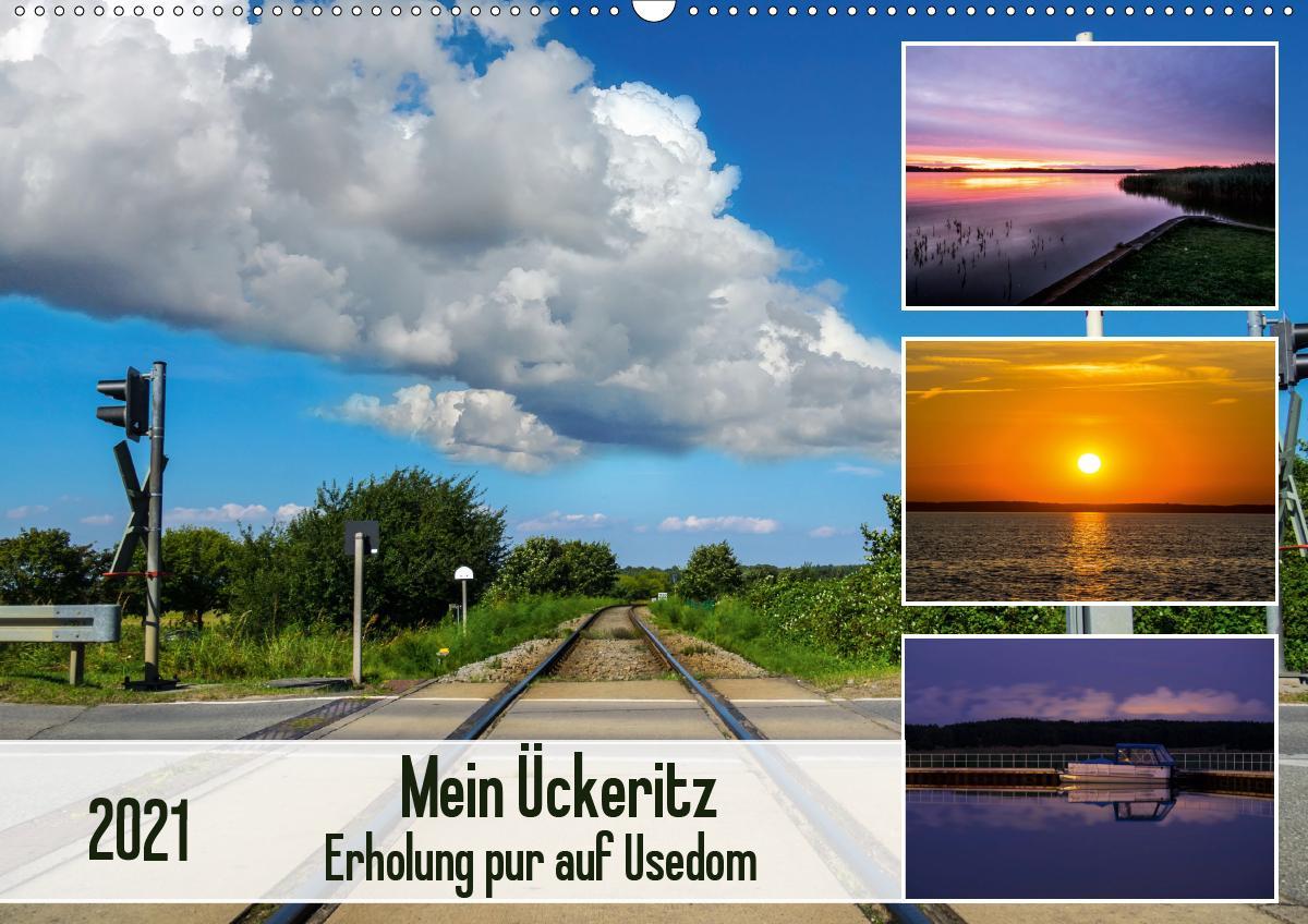 Mein Ückeritz - Erholung pur auf Usedom (Wandkalender 2021 DIN A