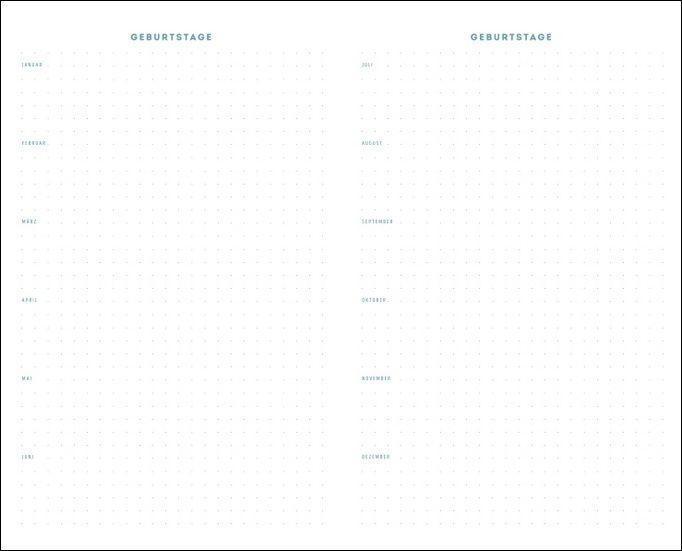 Rauszeit Kalenderbuch A5 Kalender 2022