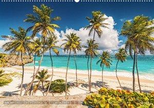 Karibik - Traumstrände (Wandkalender 2021 DIN A2 quer)