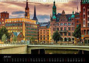 Charmantes Hamburg (Wandkalender 2022 DIN A3 quer)