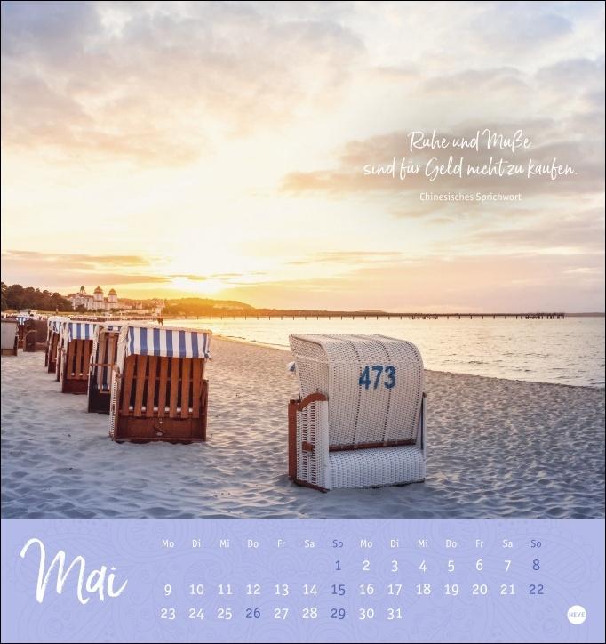 Ich wünsch dir ... stille Momente Postkartenkalender 2022