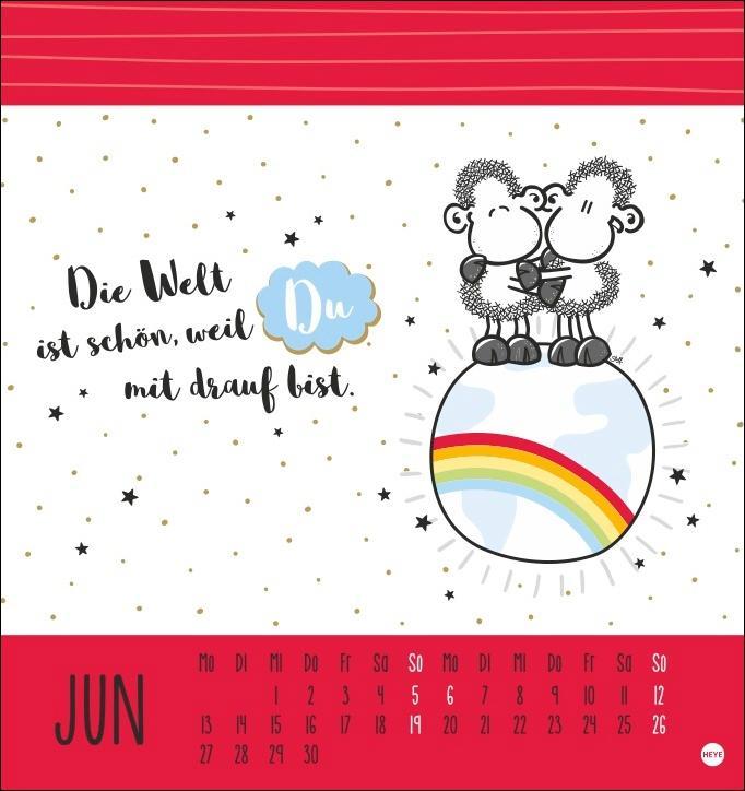 sheepworld Postkartenkalender 2022